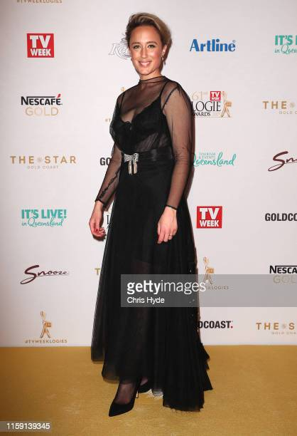 Eve Morey arrives at the 61st Annual TV WEEK Logie Awards at The Star Gold Coast on June 30 2019 on the Gold Coast Australia