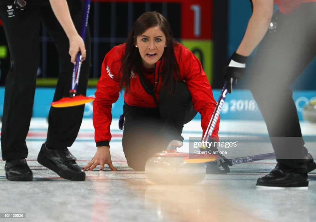 KOR: Curling - Winter Olympics Day 11
