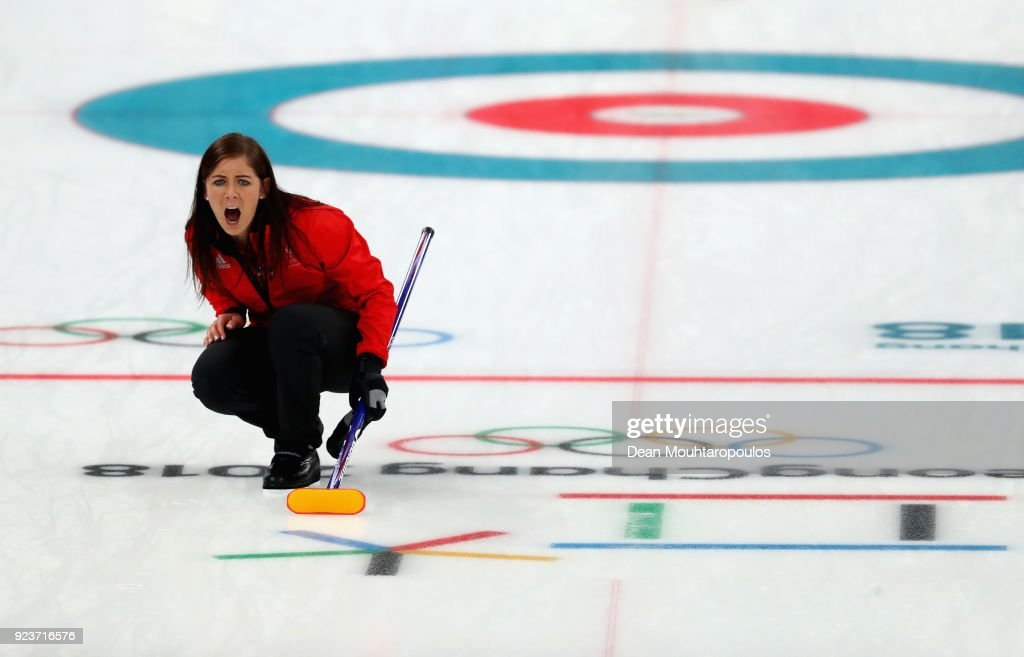 KOR: Curling - Winter Olympics Day 15