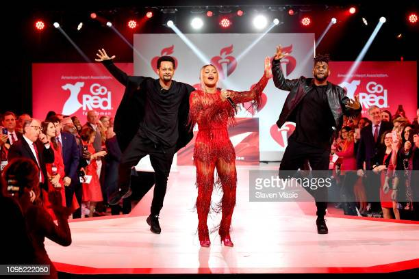 Eve perform for The American Heart Association's Go Red For Women Red Dress Collection 2019 Presented By Macy's at Hammerstein Ballroom on February 7...