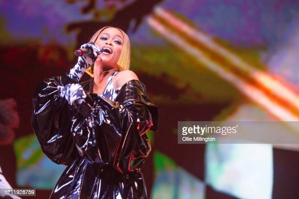Eve performs onstage during Kisstory, The Blast Off Tour at The O2 Arena on March 11, 2020 in London, England.