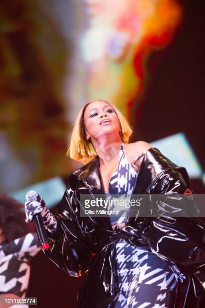 Eve performs onstage during Kisstory The Blast Off Tour at The O2 Arena on March 11 2020 in London England