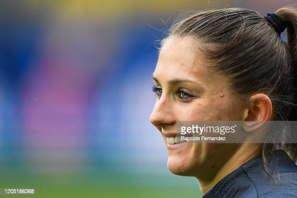 Eve PERISSET of France before the Tournoi de France International Women's soccer match between France and Canada on March 4 2020 in Calais France