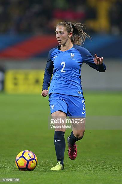 Eve Perisset of France during International Friendly match between France and Spain at MMA Arena on November 26 2016 in Le Mans France