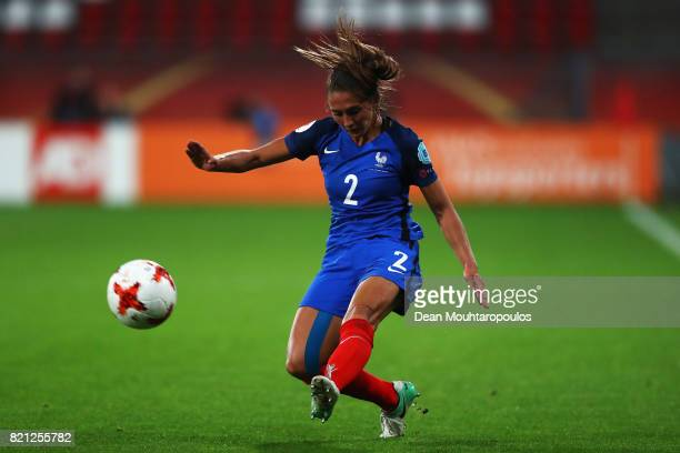 Eve Perisset of France in action during the Group C match between France and Austria during the UEFA Women's Euro 2017 at Stadion Galgenwaard on July...