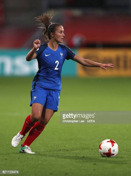 Eve Perisset of France in action during the UEFA Women's Euro 2017 Group C match between France and Austria at Stadion Galgenwaard on July 22 2017 in...