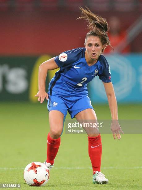 Eve Perisset of France women during the UEFA WEURO 2017 Group C group stage match between France and Austria at the Galgenwaard Stadium on July 22...