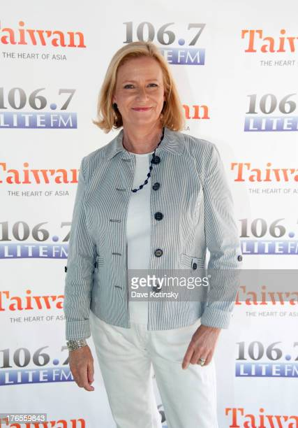 Eve Plumb attends 1067 LITE FM's Broadway in Bryant Park 2013 at Bryant Park on August 15 2013 in New York City