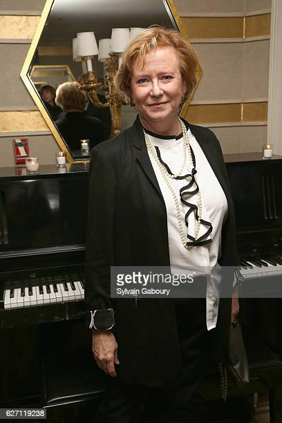 Eve Plumb attends Magnolia Pictures The Cinema Society Host the After Party for Harry Benson Shoot First at The Carlyle on December 1 2016 in New...