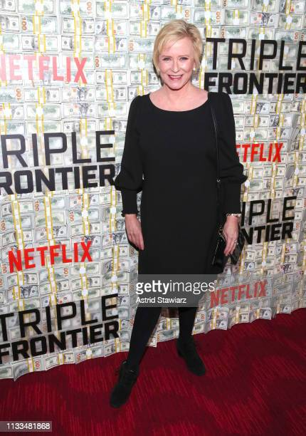Eve Plumb attends Netflix World Premiere of TRIPLE FRONTIER at Lincoln Center on March 03 2019 in New York City