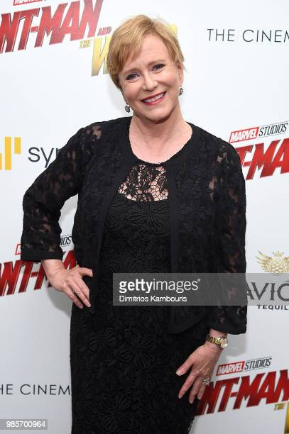 Eve Plumb attends the AntMan And The Wasp New York Screening at Museum of Modern Art on June 27 2018 in New York City