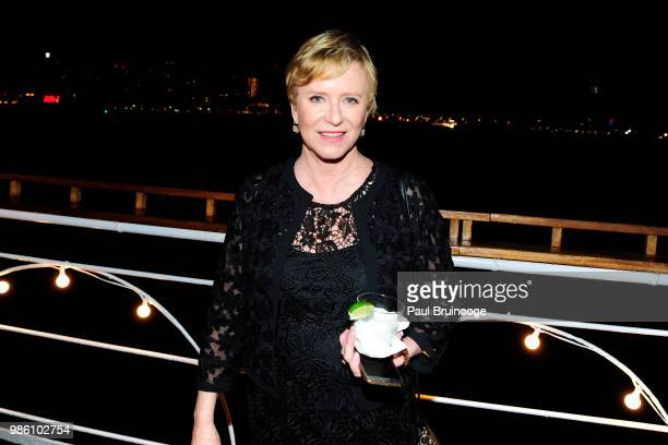 Eve Plumb attends The Cinema Society With Synchrony And Avion Host The After Party For Marvel Studios' AntMan And The Wasp at The Water Club...