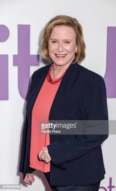 Eve Plumb attends the New York special screening of the Netflix film 'Set It Up' at AMC Loews Lincoln Square