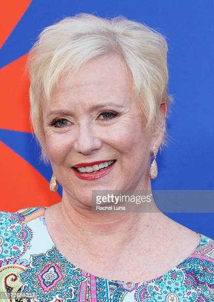 Eve Plumb attends the premiere of HGTV's A Very Brady Renovation at The Garland Hotel on September 05 2019 in North Hollywood California