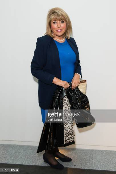 Eve Pollard attends as auction house hosts champagne reception to preview a selection of the 1000-lot estate of the late author Jackie Collins ahead...