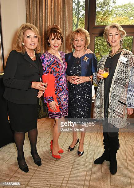 Eve Pollard Kathy Lette Esther Rantzen and Maureen Lipman attend the Women of the Year lunch and awards at the InterContinental Park Lane Hotel on...
