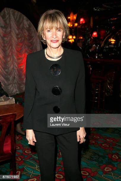 Eve Ruggieri sign copies of her book 'Dictionnaire Amoureux de Mozart' at Maxim's on November 16 2017 in Paris France