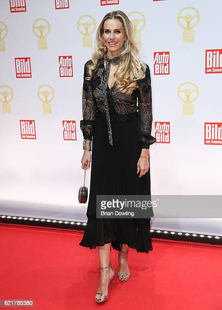 Eve Scheer attends the 'Goldenes Lenkrad' Award at Axel Springer Haus on November 8, 2016 in Berlin, Germany.