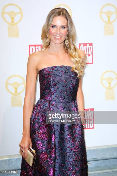Eve Scheer attends the 'Goldenes Lenkrad' Award at Axel Springer Haus on November 7, 2017 in Berlin, Germany.