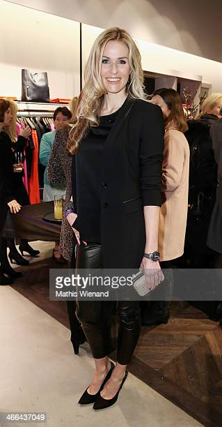 Eve Scheer attends the Laurel store opening on February 1 2014 in Dusseldorf Germany