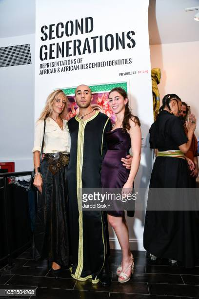 Eve Therond Walid LayadiMarfouk and Roni Willett attend Roni Willett And Walid LayadiMarfouk Host UN General Assembly Exhibition Africa House Second...