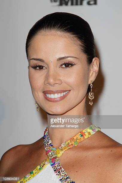 Evelin Santos attends screening of Telemundo's Alguien Te Mira at The Biltmore Hotel on September 7 2010 in Coral Gables Florida