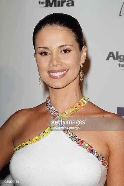 Evelin Santos attends screening of Telemundo's 'Alguien Te Mira' at The Biltmore Hotel on September 7 2010 in Coral Gables Florida