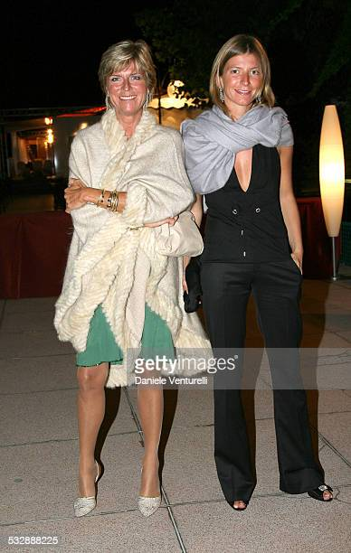Evelina Christillin and Virginia Christillin during The 63rd International Venice Film Festival Dinner Gala Inside and Arrivals at Hotel Excelsior in...