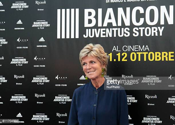"Evelina Christillin during the presentation of the new film ""Bianconeri-Juventus-Story"", in Turin, on September 30, 2016 ."