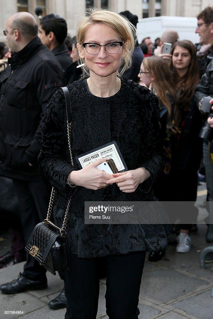 Jean Paul Gaultier : Outside Arrivals - Paris Fashion Week - Haute Couture Spring Summer 2016