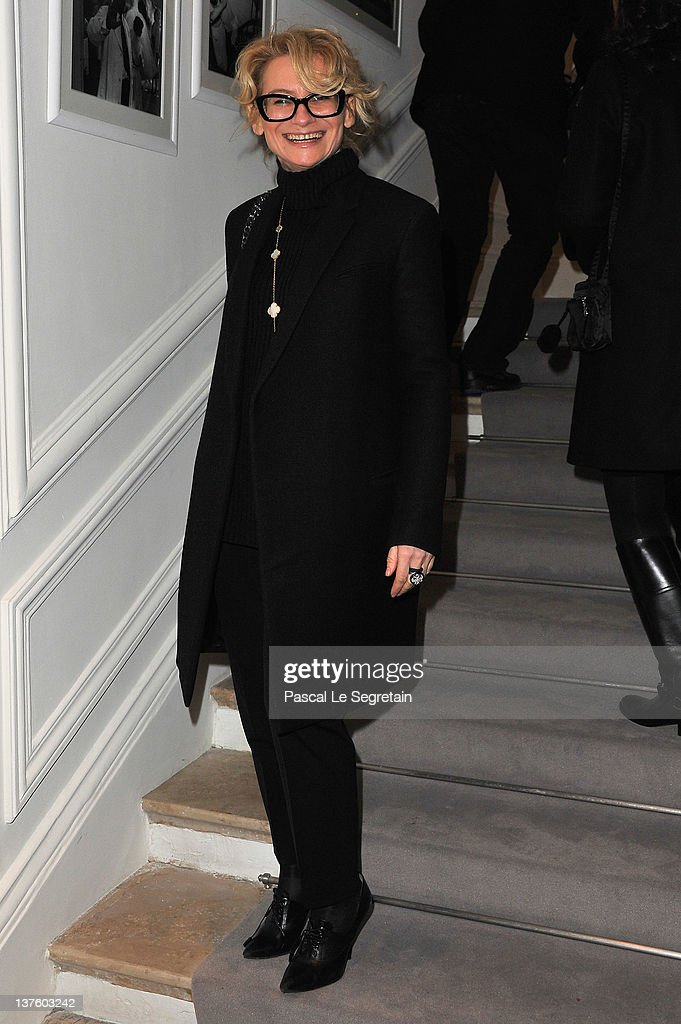 Dior: Arrivals - Paris Fashion Week Haute Couture S/S 2012