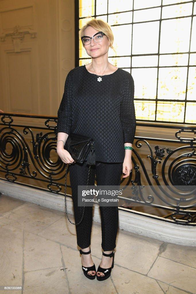 Jean Paul Gaultier : Front Row - Paris Fashion Week - Haute Couture Fall/Winter 2017-2018