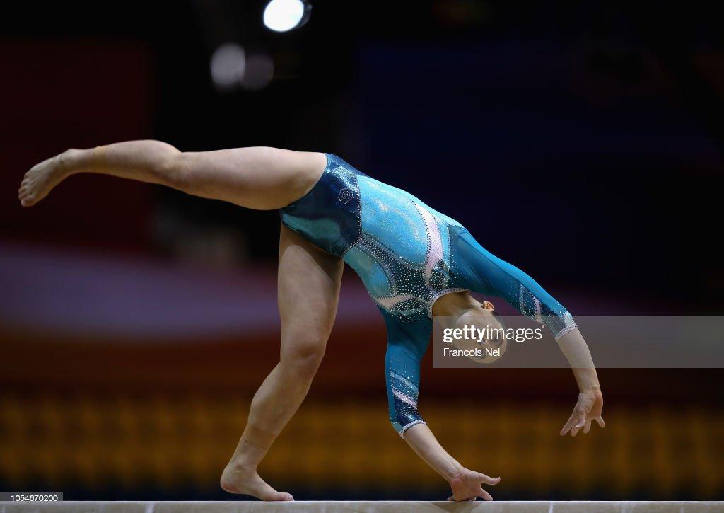 2018 FIG Artistic Gymnastics Championships - Day Four : Photo d'actualité