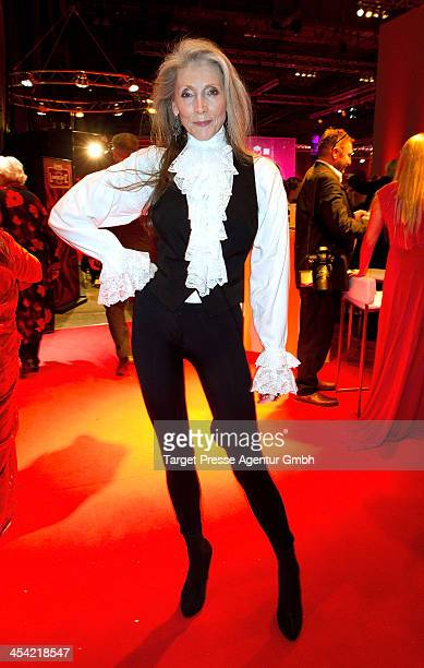Eveline Hall attends the Aftershow Party of the Gala 'Ein Herz Fuer Kinder 2013 at Flughafen Tempelhof on December 7, 2013 in Berlin, Germany.