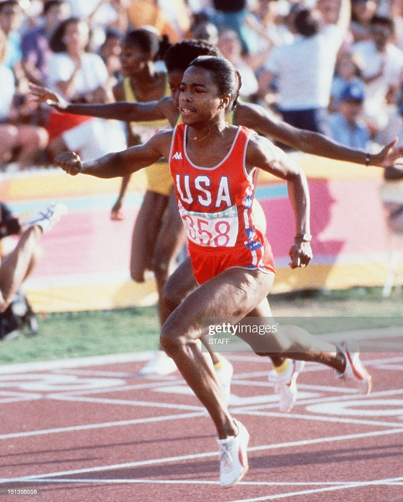 Evelyn Ashford 5 Olympic medals