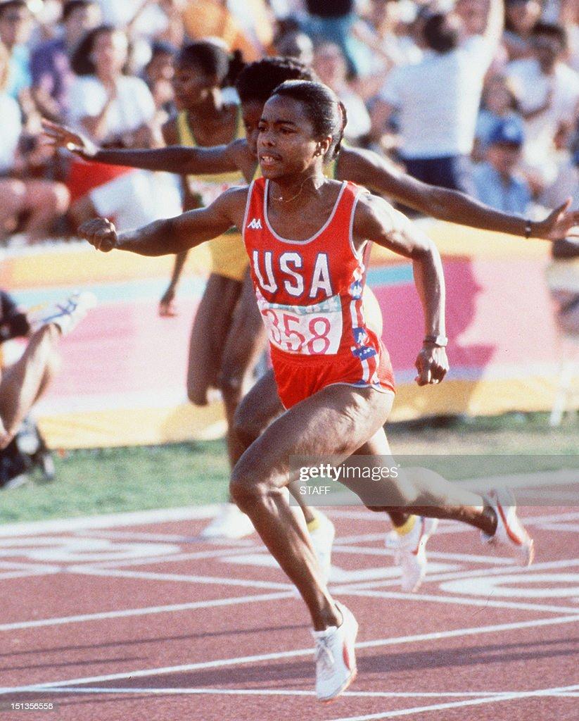 Evelyn Ashford 5 Olympic medals