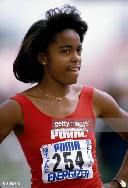 Evelyn Ashford of the USA circa 1984