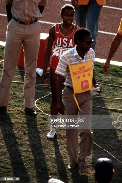 Evelyn Ashford Women's Track 100 metres competition Memorial Coliseum at the 1984 Summer Olympics August 5 1984