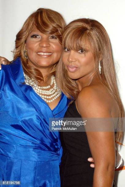 Evelyn Braxton and Toni Braxton attend Lupus LA 8th Annual Bag Ladies Luncheon at Beverly Wilshire Four Seasons Hotel on November 16 2010 in Beverly...