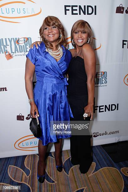 Evelyn Braxton and Toni Braxton attend Lupus LA's 8th Annual Orange Ball on November 16, 2010 in Beverly Hills, California.