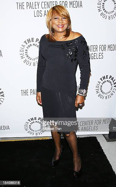 Evelyn Braxton arrives at the Paley Center for Media's Annual Los Angeles Benefit held at The Rooftop of The Lot on October 22 2012 in West Hollywood...