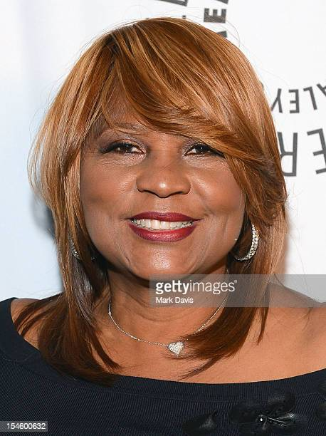 Evelyn Braxton arrives at the Paley Center for Media's Annual Los Angeles Benefit held at The Rooftop of The Lot on October 22, 2012 in West...