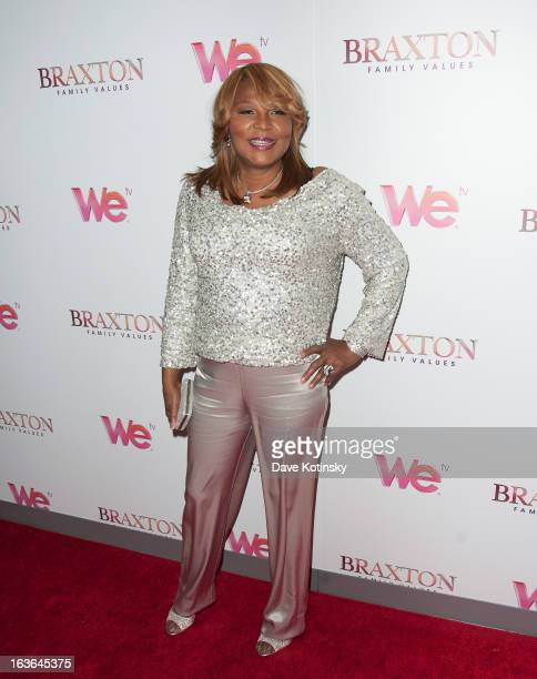 """Evelyn Braxton attend the """"Braxton Family Values"""" Season Three premiere party at STK Rooftop on March 13, 2013 in New York City."""