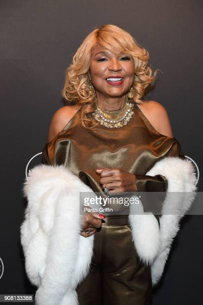 "Evelyn Braxton attends ""Faith Under Fire: The Antoinette Tuff Story"" red carpet screening at Woodruff Arts Center on January 20, 2018 in Atlanta,..."