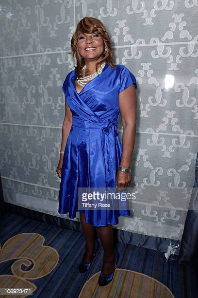 Evelyn Braxton attends Lupus LA's 8th Annual Orange Ball on November 16 2010 in Beverly Hills California