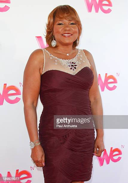 "Evelyn Braxton attends the ""Braxton Family Values"" reunion special taping at The LA Stock Exchange on February 25, 2012 in Los Angeles, California."
