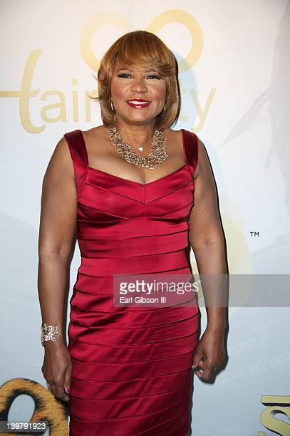 Evelyn Braxton attends the red carpet at Park Plaza on February 24, 2012 in Los Angeles, California.