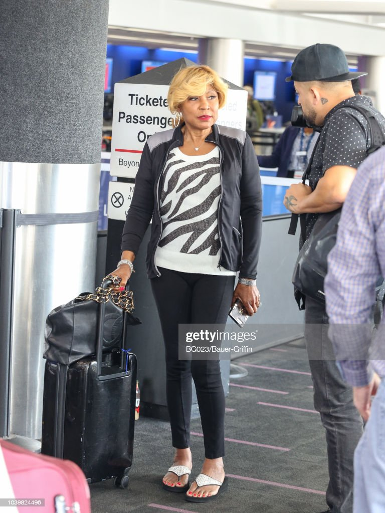 Celebrity Sightings In Los Angeles - September 24, 2018 : News Photo