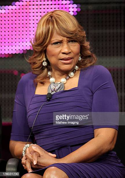 """Evelyn Braxton of show """"Braxton Family Values"""" attends the WE tv Winter 2011 TCA Panel at the Langham Hotel on January 7, 2011 in Pasadena,..."""