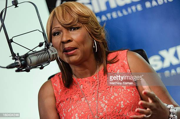 Evelyn Braxton of WE tv's 'Braxton Family Values' visits 'Hip Hop Nation' at SiriusXM Studios on August 16, 2012 in New York City.